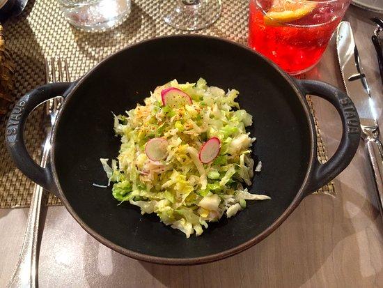 Les Cocottes de Christian Constant: The delicate crab salad
