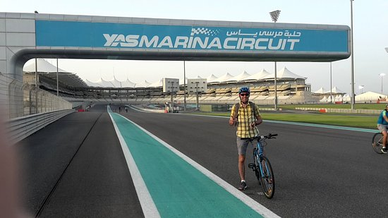 Yas Marina Circuit: Довольный муж