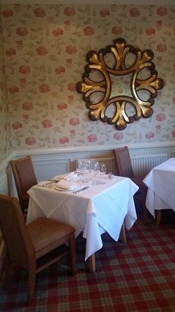Baslow, UK : Dining area