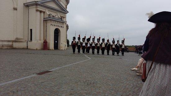 Waterloo, Belgium: marcheren