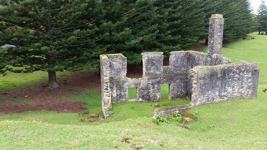 Isla Norfolk, Australia: ruins