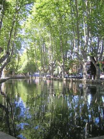 The pond at Cucuron