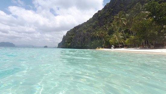 Entalula Island: Entalula beach