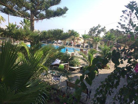 Santa Elena Hotel: vista piscina dal balcone della nostra stanza