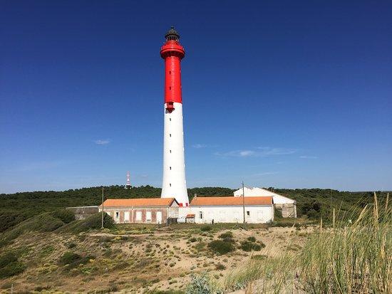 La Tremblade, France: Phare de La Coubre et ses dunes
