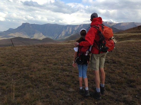 Bergville, Sydafrika: Trekking