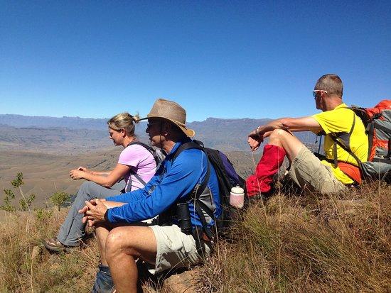 Bergville, Sydafrika: Hiking