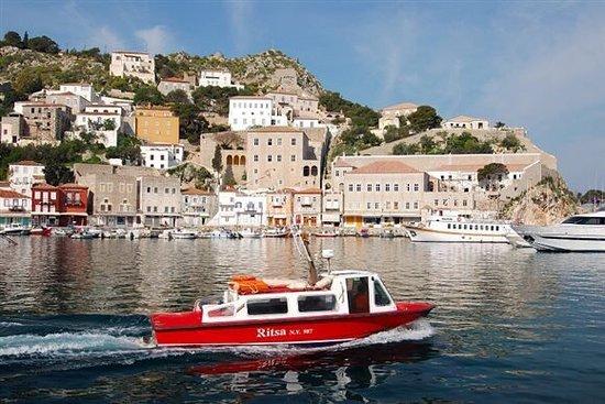 Hydra Sea Taxi Marina Lazou