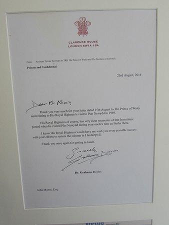 Llangefni, UK: Prince Charles