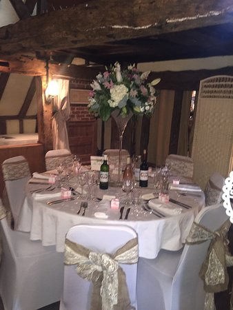 Wrotham, UK: Moat weddings