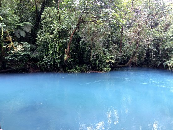Tenorio Volcano National Park, Kostaryka: The lagoon
