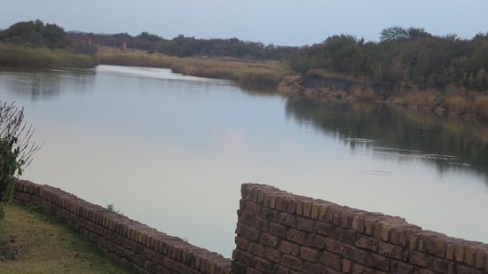 Upington, Sydafrika: orange river close by