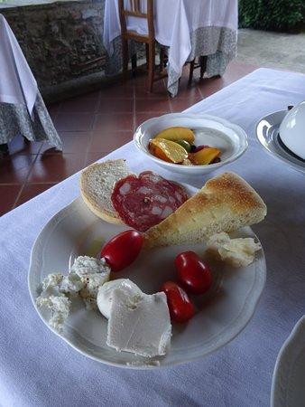 Relais San Pietro in Polvano: Ein tolles Frühstück!