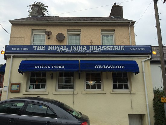 Royal Indian Restaurant: View from the street