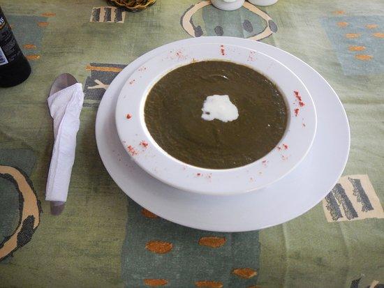 Crochu, Grenada: Callaloo Soup!