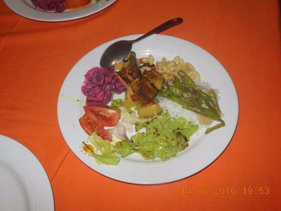 Induruwa Beach Resort: Delighted to have Vegetarian Items