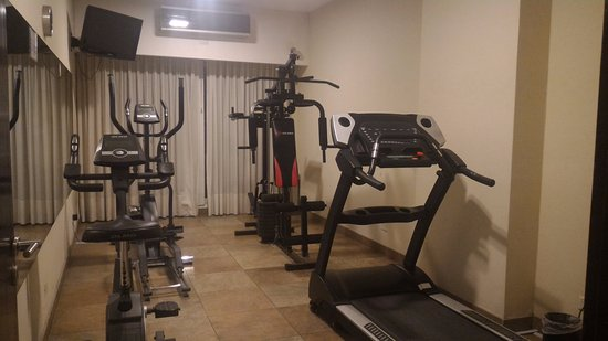 "Icaro Suites: The ""gym"""
