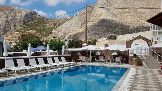 Fomithea Hotel : pool area