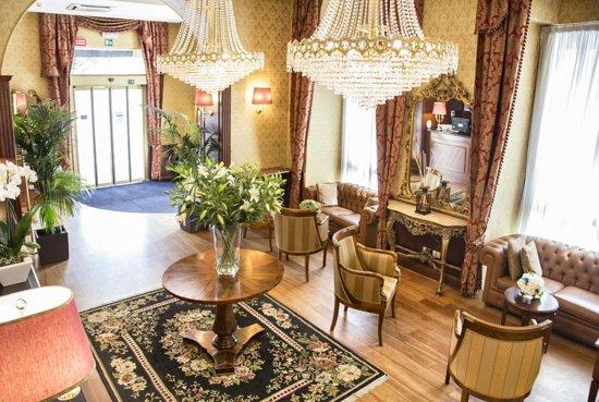 Hotel Milton Roma : hall