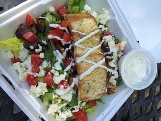 Yum Yum Kitchen: Black and Blue Salad
