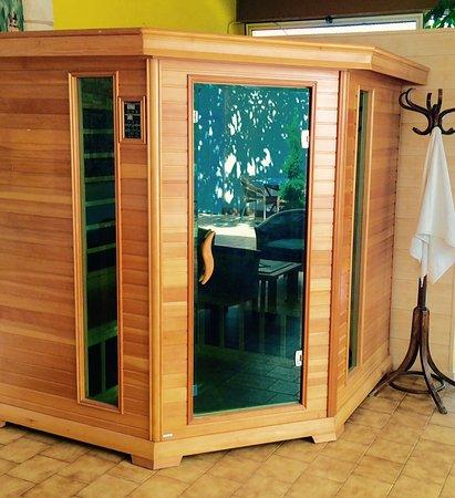 Hotel Menton Riviera : Sauna