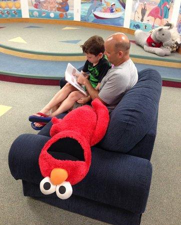 Sanibel Public Library: Reading with Elmo