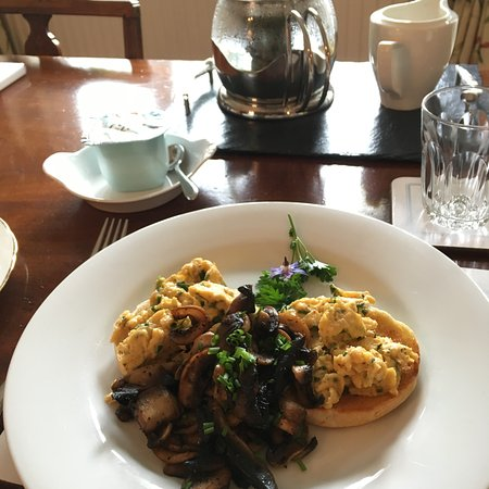 Best scrambled eggs ever. - Picture of Rose Cottage B&B, Singleton ...
