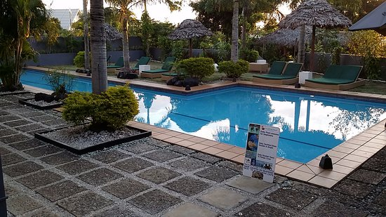 Coconut Palms Resort : lovely pool area
