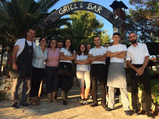 Dugi Island, Kroatien: Grill Gorgonia Team