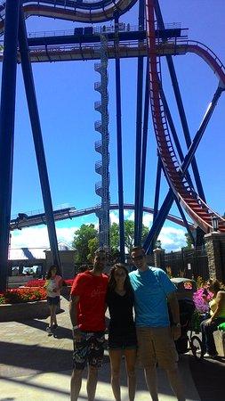 Parque de atracciones Cedar Point: One of the rides