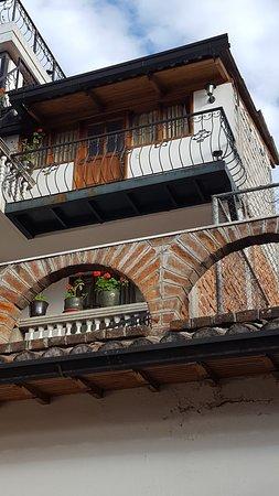 Hotel San Francisco de Quito: vista stanze piani superiori