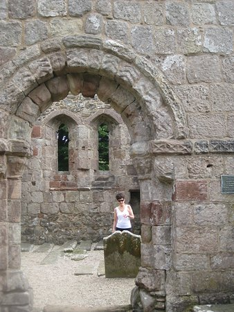 Kilchattan Bay, UK: The ruins of St Blane's church