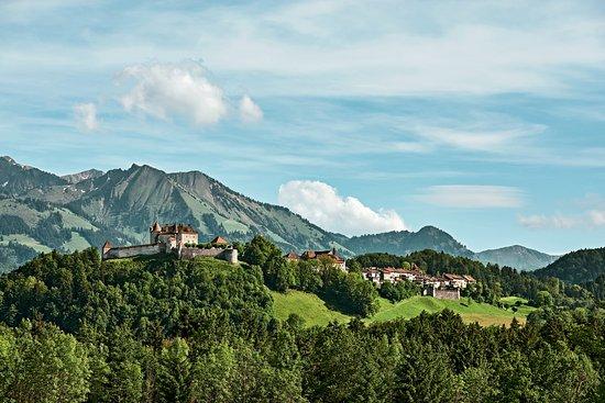 Suiza: Gruyeres