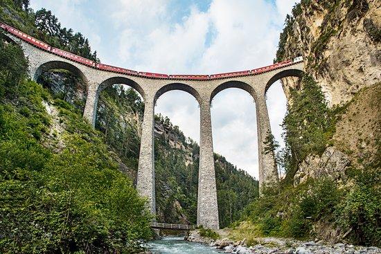 Trenes de Suiza