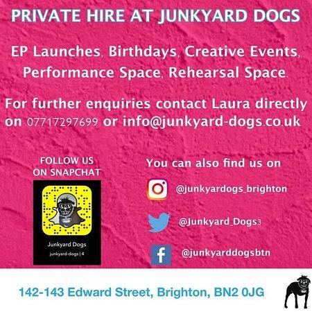 Brighton and Hove, UK: Event Hire