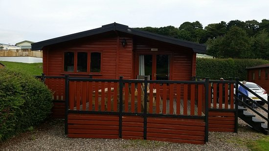 Blairgowrie Holiday Park: View from and inside Firs C (no. 9)
