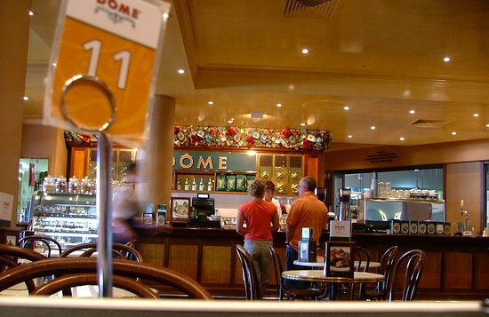 Dome Cafe: Dome - Perth Airport