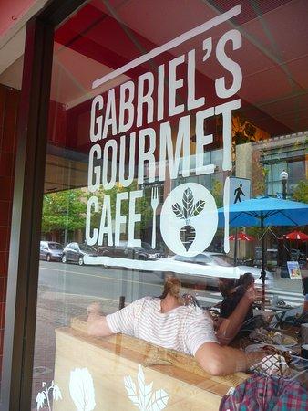 Gabriel's Gourmet Cafe: exterior.