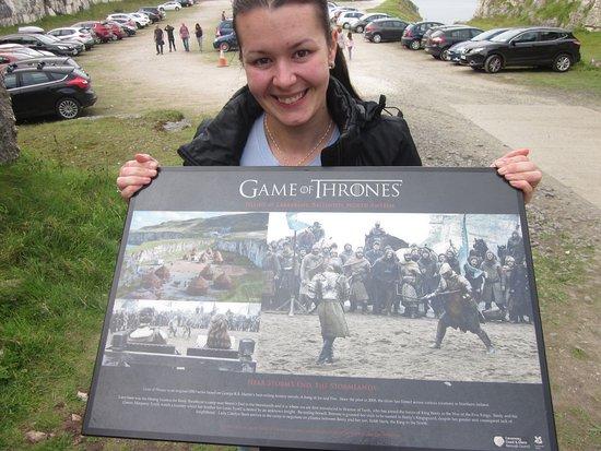 Ballintoy, UK: Hra o tróny