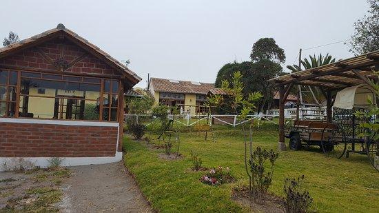 Lasso, Ecuador: entrata hotel