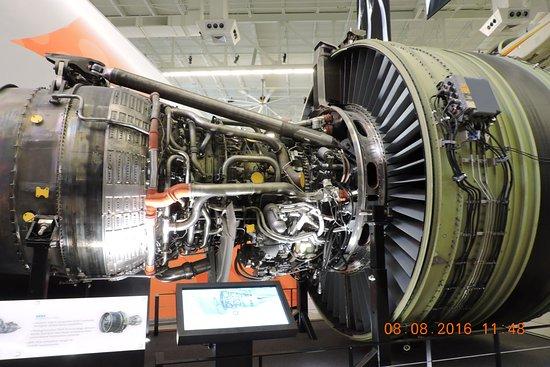 Mukilteo, Ουάσιγκτον: GE的引擎