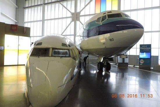 Mukilteo, WA: 兩個机頭