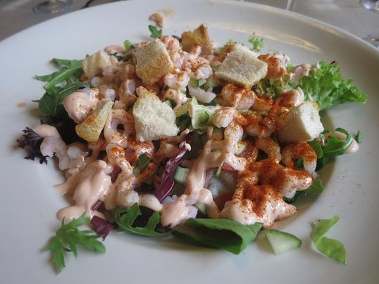 Milton Abbas, UK: Very good Prawn Salad
