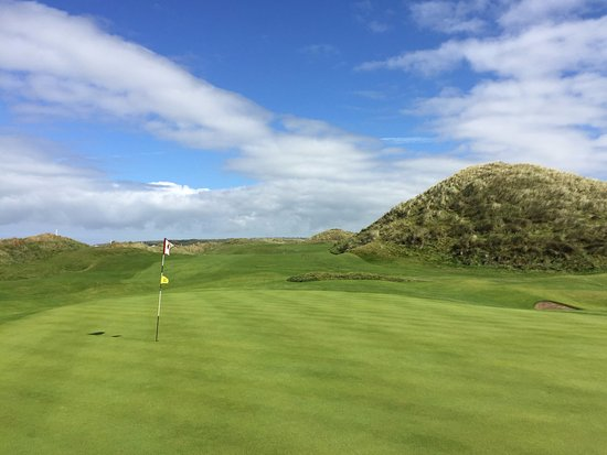 Ballybunion, Ireland: Stunning layout. A fine test of golf...