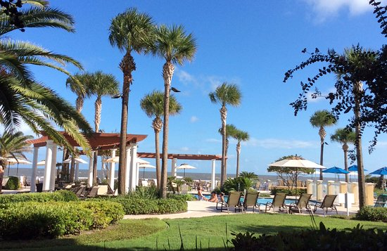 The King and Prince Beach and Golf Resort: The view from our patio!