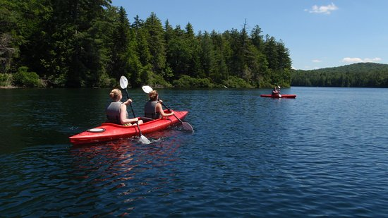 Lapland Lake Nordic Vacation Center: Summer Kayaking