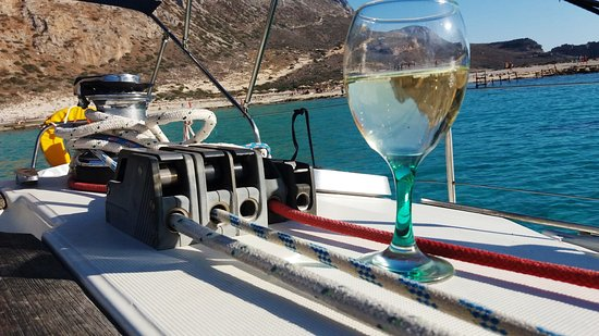 Sailing In Crete - Fantasia Sailing Boat