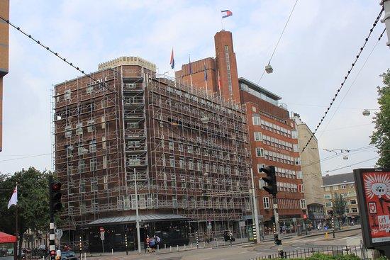 NH Amsterdam Centre: Kein schöner Anblick zur Zeit