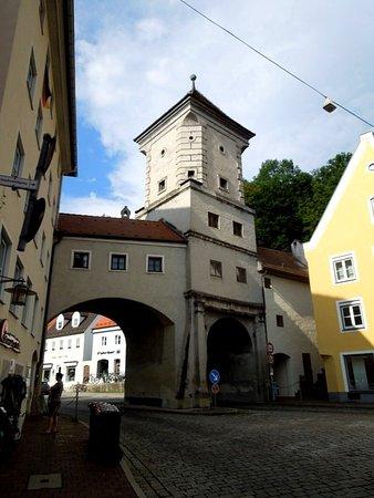Landsberg am Lech, เยอรมนี: двойной проезд в ворота
