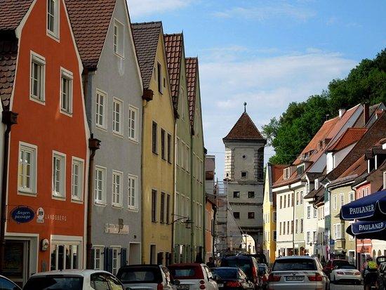 Landsberg am Lech, เยอรมนี: вид со стороны Hinterer Anger